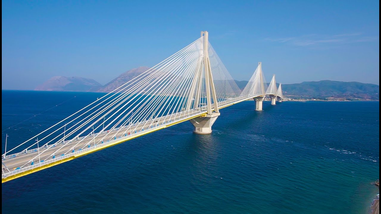 rio antirio bridge The rio-antirrio bridge or charilaos trikoupis bridge is the longest cable-stayed bridge in the world with a length of 2253 meters, completed in 2004 between rio and antirio and connects the peloponnese with western mainland greece charilaos trikoupis (11 july 1832-30 march 1896) was a greek .