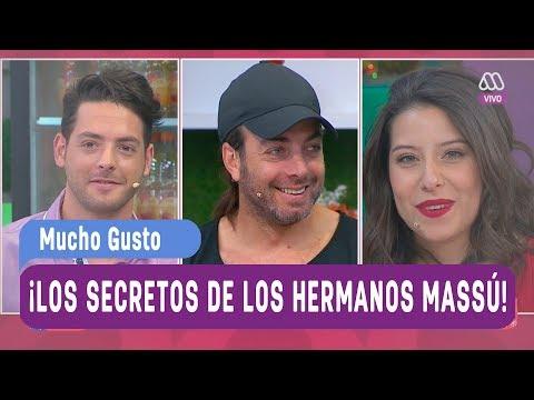 ¡Los secretos de los hermanos Massú! - Mucho gusto 2017
