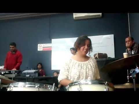Ensayo general - Big Band Jazz UdeG - Lilith Baterista - In the Mood