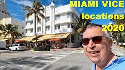 MIAMI VICE filming locations in 2020