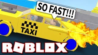 ROBLOX TAXI SIMULATOR!! *ROCKET POWER ACTIVATE*