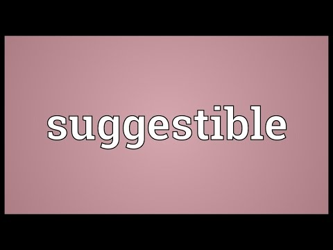 Header of suggestible