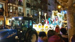 La cabalgata de Reyes en Logroño
