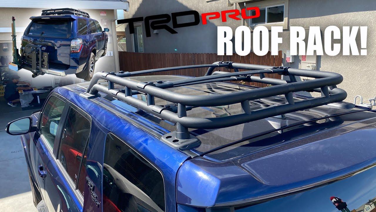 trd pro roof rack install on 2021 4runner