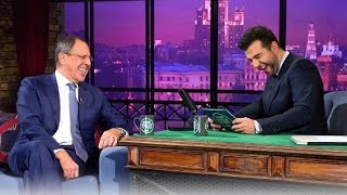Вечерний Ургант -  Сергей Лавров/Sergey Lavrov, MozART Group. 59 выпуск, 24.10.2012 thumbnail