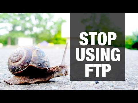 STOP USING FTP!  - How to Deploy with Flightplan over SSH