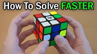 How to Solve the Rubik's Cube FASTER with the [Beginner Method]