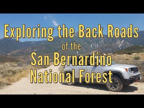 Exploring the Back Roads of the San Bernardino National Forest
