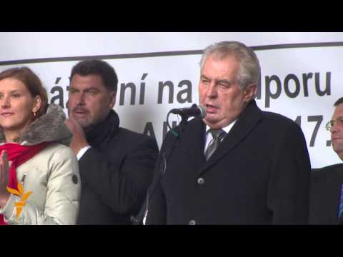 Czech President Warns Against 'Culture Of Murderers' At Anti-Islam Protest Mp3