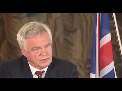 David Davis: EU wants certainty - we will give it