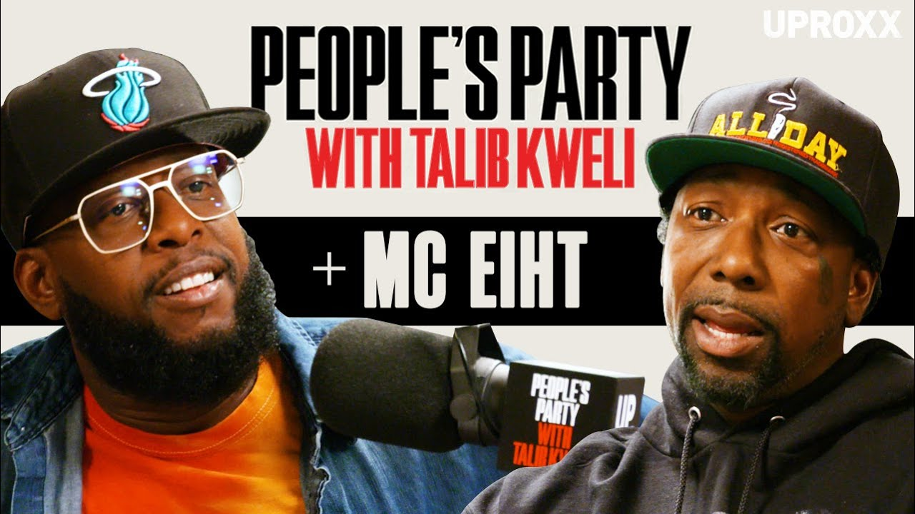 Talib Kweli & MC Eiht Talk Gang Life, Menace II Society, Tupac, DJ Quik Beef | People's Par