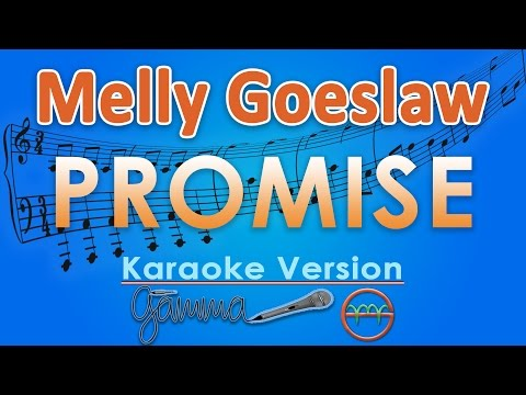 Melly Goeslaw - Promise (Karaoke Lirik Tanpa Vokal) by GMusic