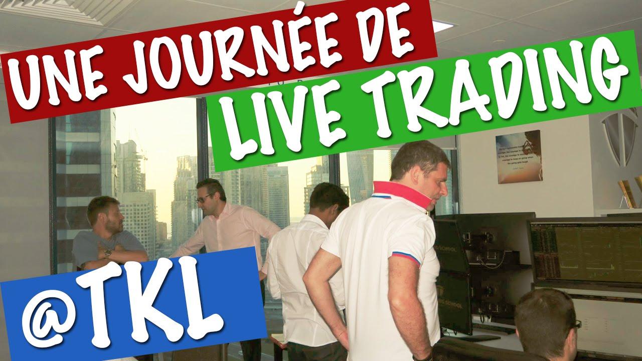 Une journée de Live Trading @ Salle des Marchés de la TKL