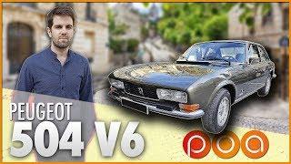 🚗 PEUGEOT 504 COUPE V6 : Idéal pour OSS117 ?