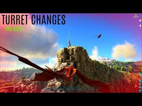 NEW TURRET TESTING w/ Tons More Changes - Ragnarok Expansion - ARK Survival