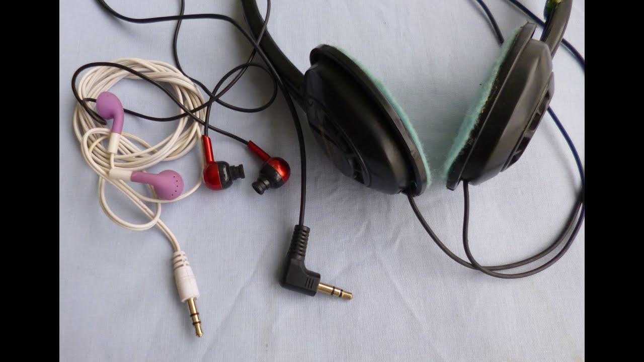 Como reparar audifonos youtube for Como reparar una gotera de la regadera