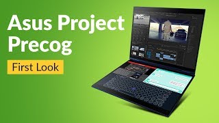 Asus Project Precog First Look : a dual-screen notebook with AI features   Digit.in