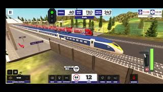 #20 Euro Train Simulator 2 Android  Gameplay London to Paris #eurostar #eurostar374 #london #paris screenshot 3