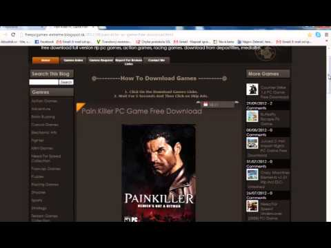 How To Download Painkiller: Heavens Got a Hitman Full Version PC Game For Free