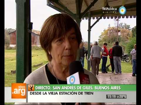 Vivo en Arg - Bs.As. - San Andrés de Giles - Historia local - 01-05-13