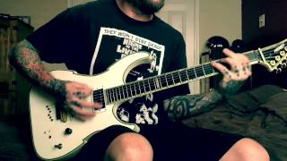 Vehemence - By Your Bedside (guitar playthrough)