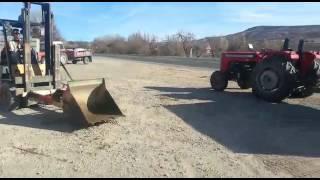Forklift Ile Kum Yükleme Aparatı