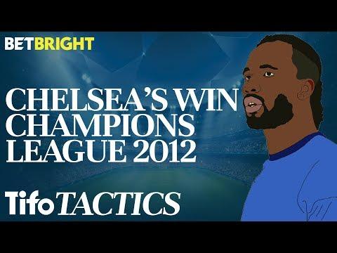 Chelsea&39;s  Champions League Win  Champions League Tactics