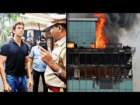 Hrithik Roshan's Office building CATCHES FIRE : EXCLUSIVE ...