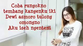"Nella Kharisma "" Sayang 2 "" Dwi Asmoro lirik"