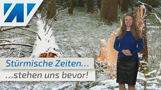 Achtung - Sturmalarm für die kommende Nacht!