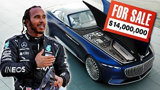F1 SUPERSTAR LEWIS HAMILTON IS QUITTING CARS