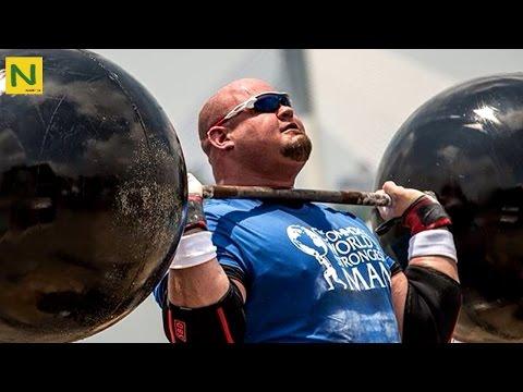 世界最強の怪力!ブライアン・ショー 超高重量トレーニング(筋トレ) | Brian Shaw High weight training