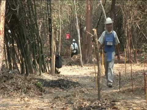 Cambodia Landmine Removal - Freedom Fields USA 2009