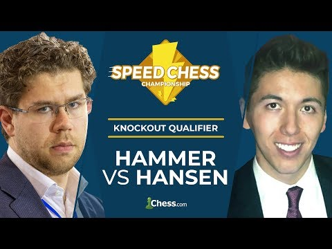 Speed Chess KO Qualifier Semifinal: Hansen vs Hammer
