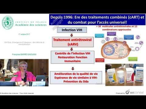 [Conférence] F. BARRÉ-SINOUSSI - VIH/Sida, Emergence d'infections : des défis de la mondialisation