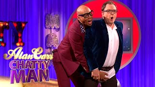 RuPaul's Technique For Tucking In Drag - Alan Carr: Chatty Man
