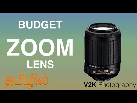 Zoom Lens in Budget | Nikon 55-200 VR Lens Review | Learn Photography in Tamil