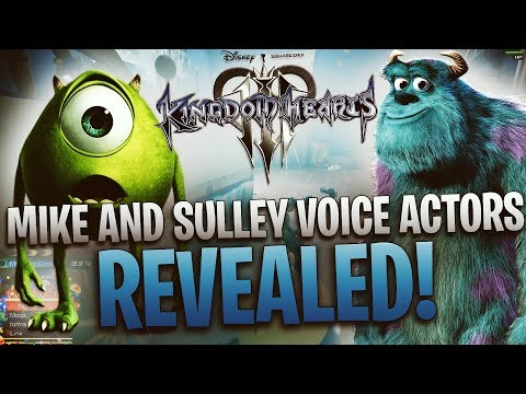 Kingdom Hearts 3 - Mike and Sulley Voice Actors Revealed!