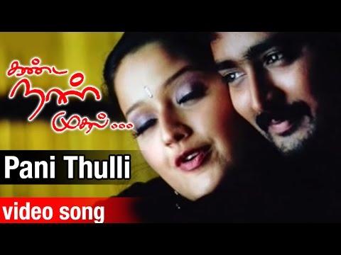 Pani Thulli Video Song | Kanda Naal Mudhal Tamil Movie | Prasanna | Laila | Yuvan Shankar Raja