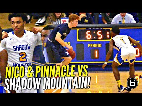 Nico Mannion Meets Shadow Mountains DEFENSE!! Pinnacle Puts UP a FIGHT But Snatch Bros Too Much!!!