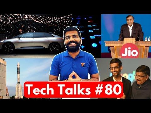 Tech Talks #80 - Jio Airtel Cat Fight, ISRO World Record, Snapdragon 835, Nokia Plans, Intel 7th Gen