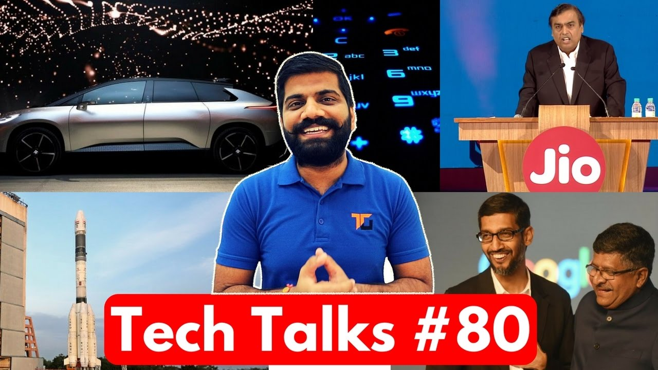 Tech Talks #80 - Jio Airtel Cat Fight, ISRO World Record, Snapdragon 835, Nokia Plans, Intel 7th Gen
