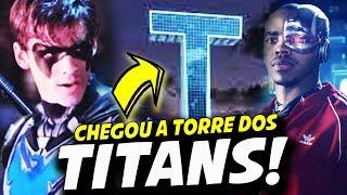 TORRE DOS TITANS ASA NOTURNA E SUPERBOY! || TITANS 2ª TEMPORADA