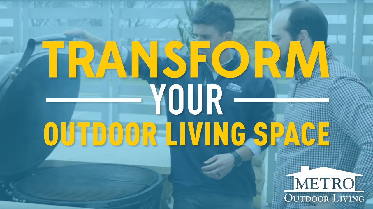 Why Metro Outdoor Living Liances More