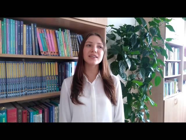 Ульяна Рекашова читает произведение «Сказка» (Бунин Иван Алексеевич)
