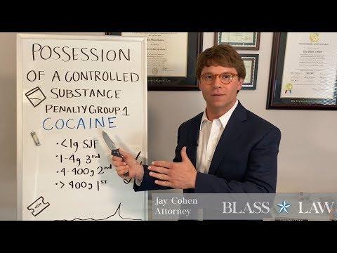 Cocaine ❄️⛷ penalties in Texas