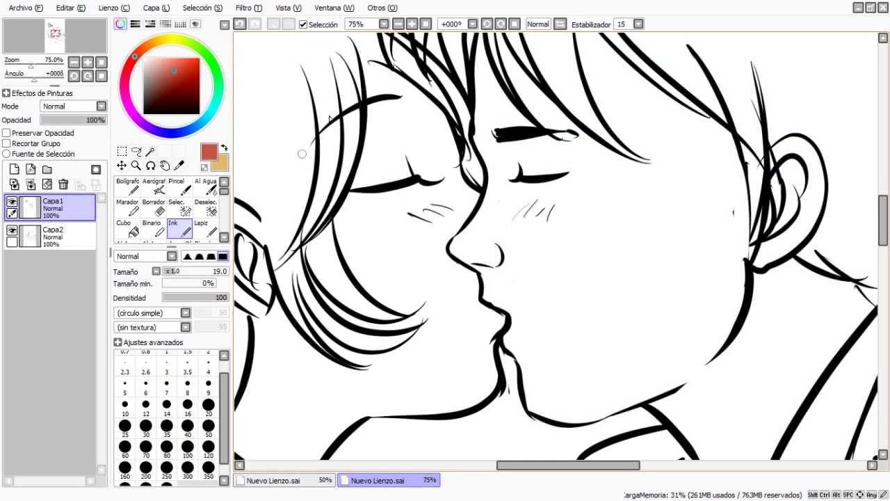 Dibujando Manga Con Shukei #21 Besos Apasionados