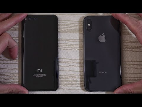 Xiaomi Mi6 MIUI 9 vs iPhone X - Speed Test!