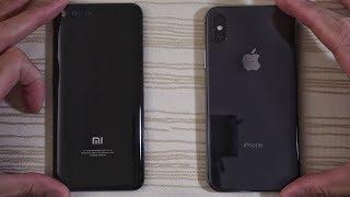 Xiaomi Mi6 MIUI 9 vs iPhone X - Speed Test!