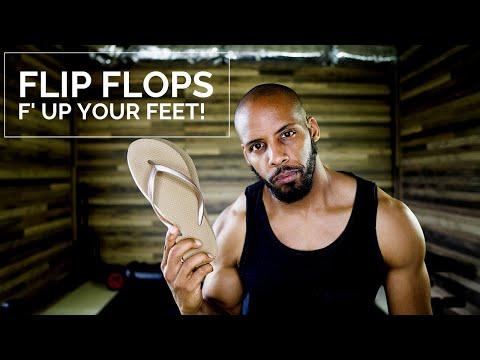Flip Flops are bad! (Sliders/Mules)